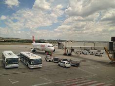 Boarding... Swiss!!