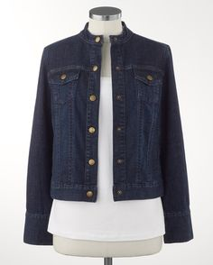 Perfect little jean jacket - [K17116]