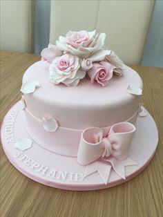 Torte Elegant Wedding Cakes, Elegant Cakes, Beautiful Wedding Cakes, Wedding Cake Designs, Beautiful Cakes, Amazing Cakes, 90th Birthday Cakes, Birthday Cakes For Women, Pretty Cakes