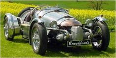 Pembleton Brooklands. Chassis kits are built with donor parts from Citroen 2CV.  http://www.pembleton.co.uk