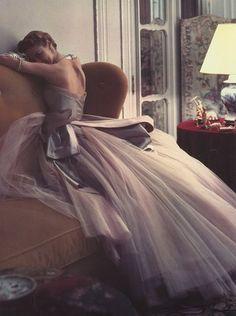 model Jean Patchett by Norman Parkinson
