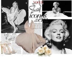 """Marilyn Monroe...♥"" by ornellav ❤ liked on Polyvore"