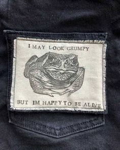 Frog Discover Handmade Iron On Patch Toad Patch Vintage Glam, Pin And Patches, Iron On Patches, Ragnor Fell, Life Quotes Love, Patch Design, Toad, Looks Cool, Artsy