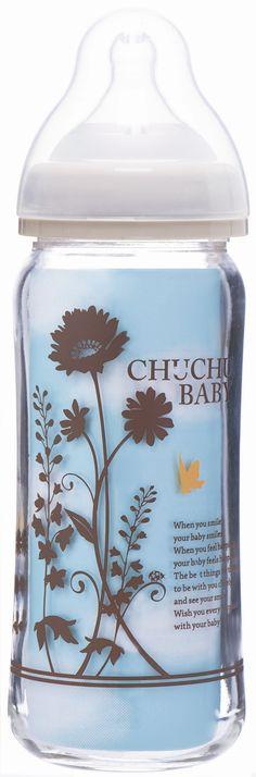 Chuchu Baby 3676 - Bình sữa thủy tinh G - 240ml cổ rộng - giảm giá 11% | KAY.vn