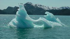 Iceberg floating near Columbia Glacier in Alaska, May of 2011.