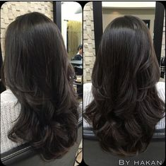 Ideas Hair Cuts Long Layers Ombre For 2019 Medium Hair Styles, Curly Hair Styles, Natural Hair Styles, Hair Medium, Medium Long, Long Hair Cuts, Long Curly Hair, Layered Long Hair, Long Hair Short Layers