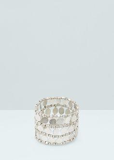 Elastic bracelet - Jewellery for Women | MANGO USA