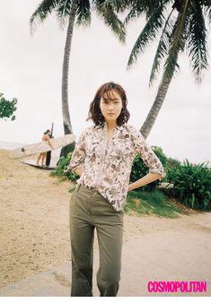 Kim Go-eun // Cosmopolitan Korea