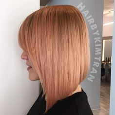 Strawberry+Blonde+Angled+Bob