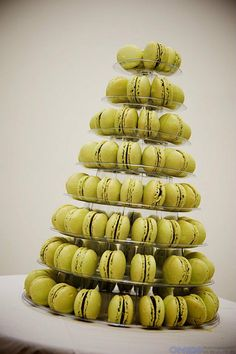 One word to describe the macarons pyramid from French Made Baking (81 Kingsway): wow.