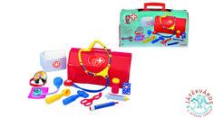 A leendő kis orvosoknak nélkülözhetetlen a klasszikus doktor táska. Megtalálható benne minden, többek között fonendoszkóp, lázmérő, olló, tablettás doboz, térd kalapács, fülvizsgáló eszköz. Gyógyítsd meg vele beteg babáidat! Minden, Backpacks, Bags, Handbags, Backpack, Backpacker, Bag, Backpacking, Totes