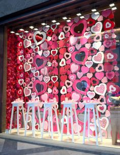 Valentine's day window