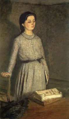 The Student by Gwen John 1903.