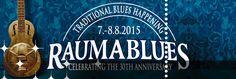 Suomalaisen blueskentän ykköstapahtumiin lukeutuva Rauma Blues järjestetään 30. kerran. Päätapahtuma järjestetään Rauman keskustassa, Parpansalin kentälle rakennettavalle teltta-areenalle perjantaina ja lauantaina 7.-8. elokuuta.