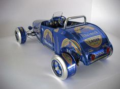 Classic Vehicles Made From Recycled Beer Cans (2)