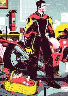 Personnal illustrations_part TWO on Behance
