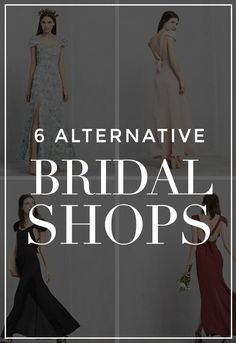 6 Alternative Bridal Shops to Make Your Wedding Cool