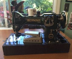 Bernina 217 industrial sewing machine m quinas de for Machine a coudre 217