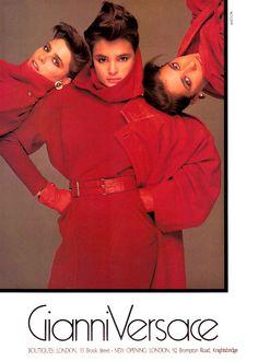 Campaign: Versace Season: Fall 1984 Photographer: Richard Avedon