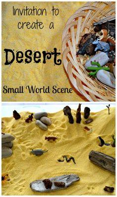 Cornmeal desert sensory bin- A good option for the littlest to do when we study the Sahara Desert this year.