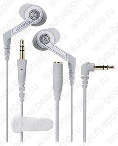 Купить Audio-Technica ATH-CKP300 WH, доставка по Москве и всей РФ.