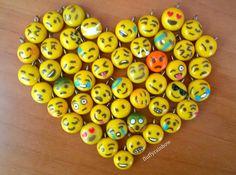Polymer clay emojis