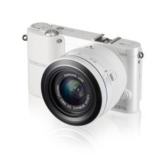 awesome Samsung NX1000 - Smart cámara de 20.3 megapíxeles (pantalla de 3 pulgadas), color blanco