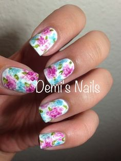30 Lovable Peony Nails #naildesignideaz #naildesign #peony ♥ If you enjoyed my pin, pls visit us at http://naildesignideaz.com/ ♥