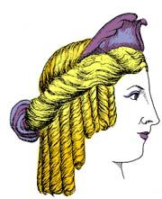 Early Hairstyling of the Hellenistic Period in Ancient Greece -pin it by carden - Modern Hellenistic Period, Ancient Greece, Scrunching Hair, Greek Hairstyles, Beauty Shop, History, Hair Styles, Modern, Hair Plait Styles