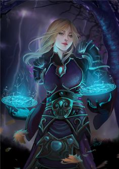 Seralina by InaWong female wizard witch sorceress sorcerer player character npc   Create your own roleplaying game material w/ RPG Bard at www.rpgbard.com   Writing inspiration for Dungeons & Dragons DND Pathfinder PFRPG Warhammer 40k Star Wars Shadowrun Call of Cthulhu and d20 fantasy science fiction scifi horror design   Not our art: please click artwork for source