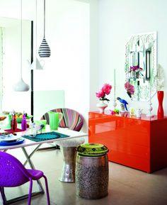 Esszimmer Wohnideen Möbel Dekoration Decoration Living Idea Interiors home dining room - Funky Esszimmer
