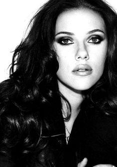 Scarlett Johansson - My girlcrush. Let's just be honest.