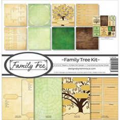 Reminisce Family Tree Paper Pack
