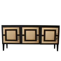 Henryk Long Cabinet, Black - B.I. MADE IN GERMANY COLLECTION by Birgit Israel | CABINETS in the Signature Collection
