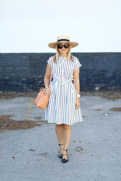 Summer Stripes ~ Suburban Faux-Pas by @krystinlee
