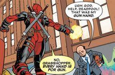 Deadpool is a source of much wisdom. [Deadpool #22, 2014]