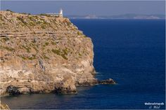 Cap Blanc lighthouse. Mallorca.  Pic from Mallorcafotografie