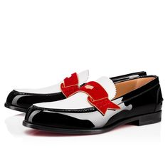 98c7bb40330c Christian Louboutin United States Official Online Boutique - Monono Flat  Black Loubi Patent Leather available online. Discover more Men Shoes by  Christian ...