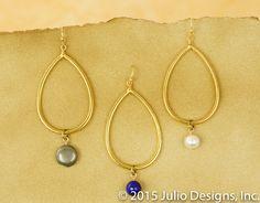 ER204 #juliodesigns #handmadejewelry #vintage