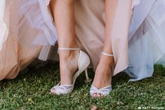 Imaani Lulu is feminine and vintage inspired, with lace, see-through panels and hundreds of sparkly crystals. We also supply silicone heel stoppers to ensure your heels don't sink into the ground while taking wedding photos outside.