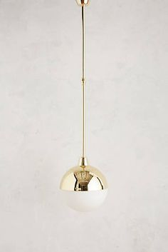 Anchored Orb Pendant Lamp