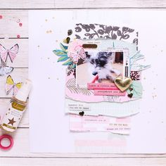 This is my first layout using the gorgeous Februaey @hipkitclub kits. I mostly focused on the pastel colors in the kits and especially bits from the beautiful Chasing Dreams & Oasis collections by @cratepaper. If you want to watch the process video it's up on my YouTube channel (search Zinia Amoiridou) #maggieholmes #mhchasingdreams #cratepaper #cpoasis #HipKit #HipKits #HipKitClub #HipKitClubKits #HipKitClubDesignTeam #HKC #HKCDT #scrapbook #scrapbooking #memorykeeping #scrapbookprocess…