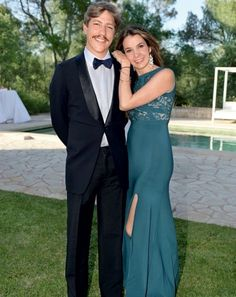 Prince Louis and Princess Tessy attended a summer party