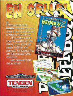 Paperboy 2 for Mega Drive (France, Tengen / Domark, May 1993)