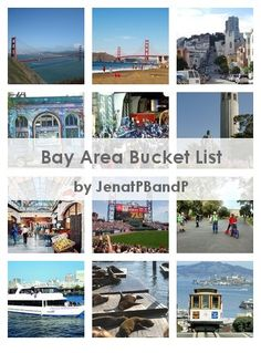 Bay Area Bucket List
