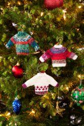 Noel Knit Sweater Ornaments | FaveCrafts.com