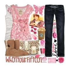 """""""When your Amy Juergens...."""" by happie ❤ liked on Polyvore featuring Coach, Hollister Co., Justin Bieber, UGG Australia, Nordstrom, Juicy Couture, Forever 21, Yves Saint Laurent, Vera Wang and Tarina Tarantino"""