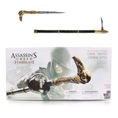 Assassin's Creed Action Figures Weapon Syndicate Cane Sword Anime Game Assassin Creed Model Toys Syndicate Cane Sword //Price: $40.00 & FREE Shipping //     #assassinscreed