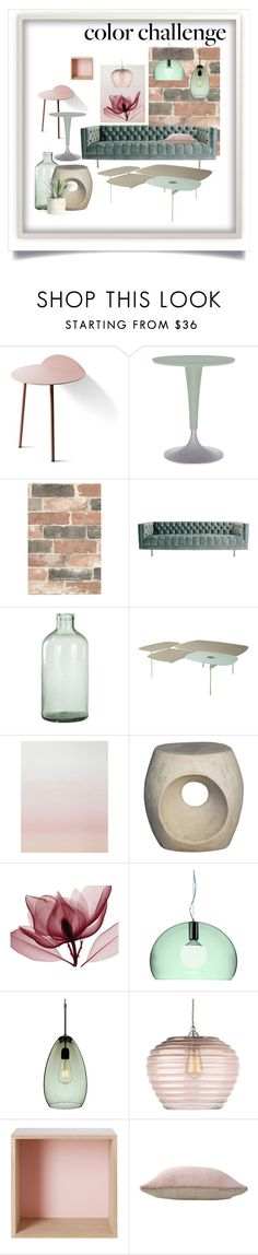 """""""Untitled #727"""" by forkelly1 ❤ liked on Polyvore featuring interior, interiors, interior design, home, home decor, interior decorating, WALL, Kartell, Wall Pops! and Imperfect Design"""