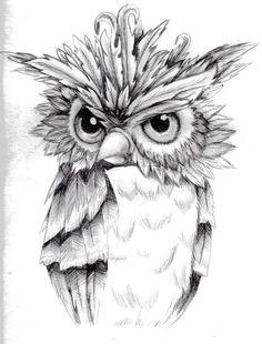 Трафарети з совами: колекція для творчості | Ідеї декору Bird Drawings, Animal Drawings, Animal Sketches, Art Sketches, Owl Coloring Pages, Adult Coloring, Baby Memorial Tattoos, Shetland, Tattoo Und Piercing